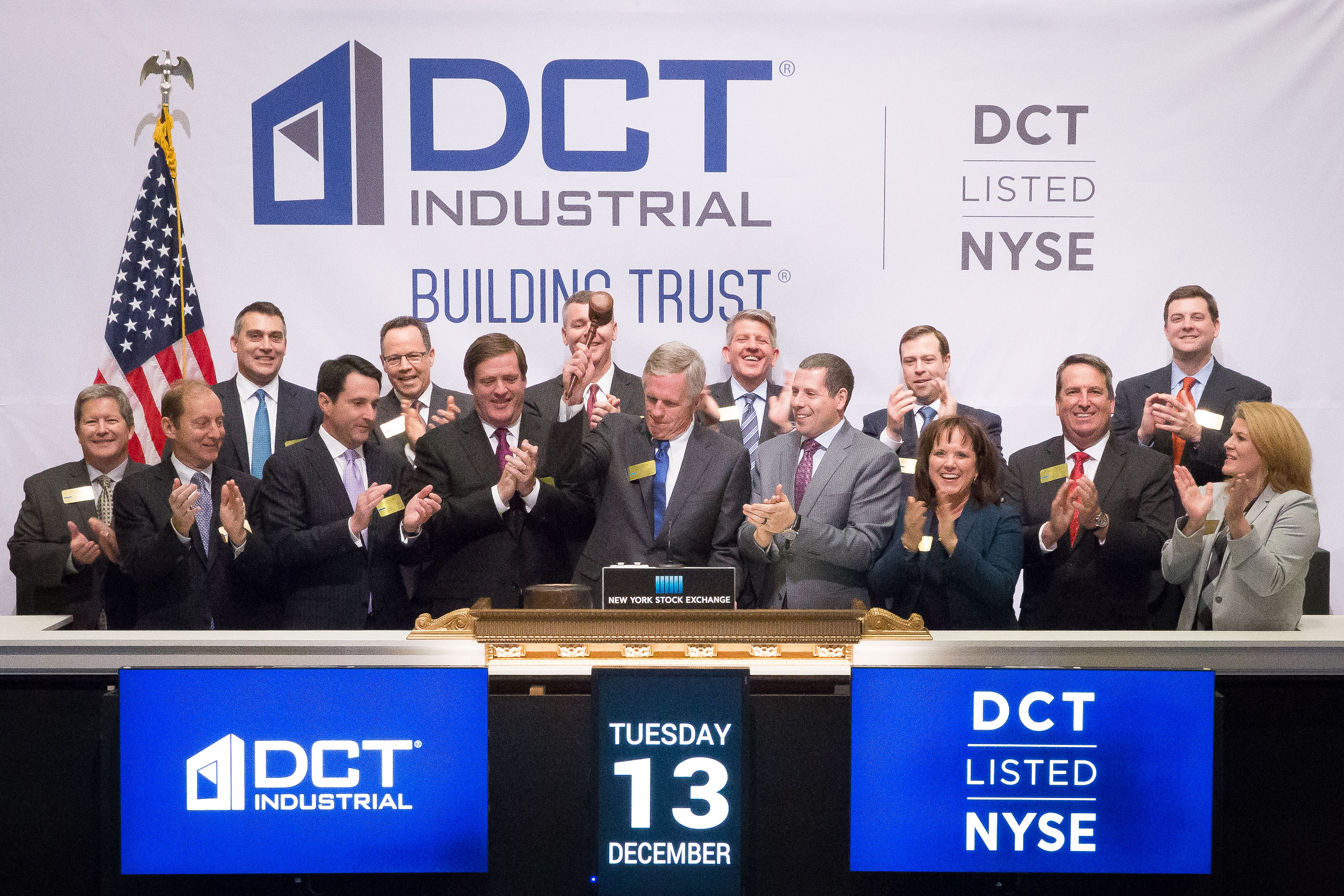 DCT Industrial at NYSE