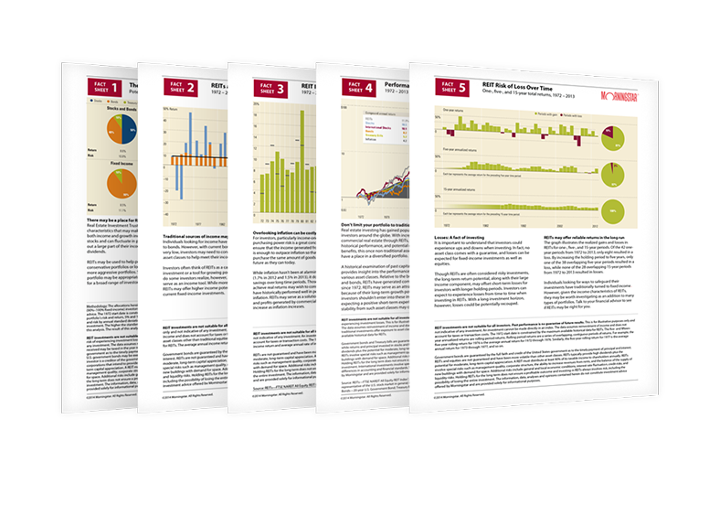 REIT Morningstar Fact Sheets