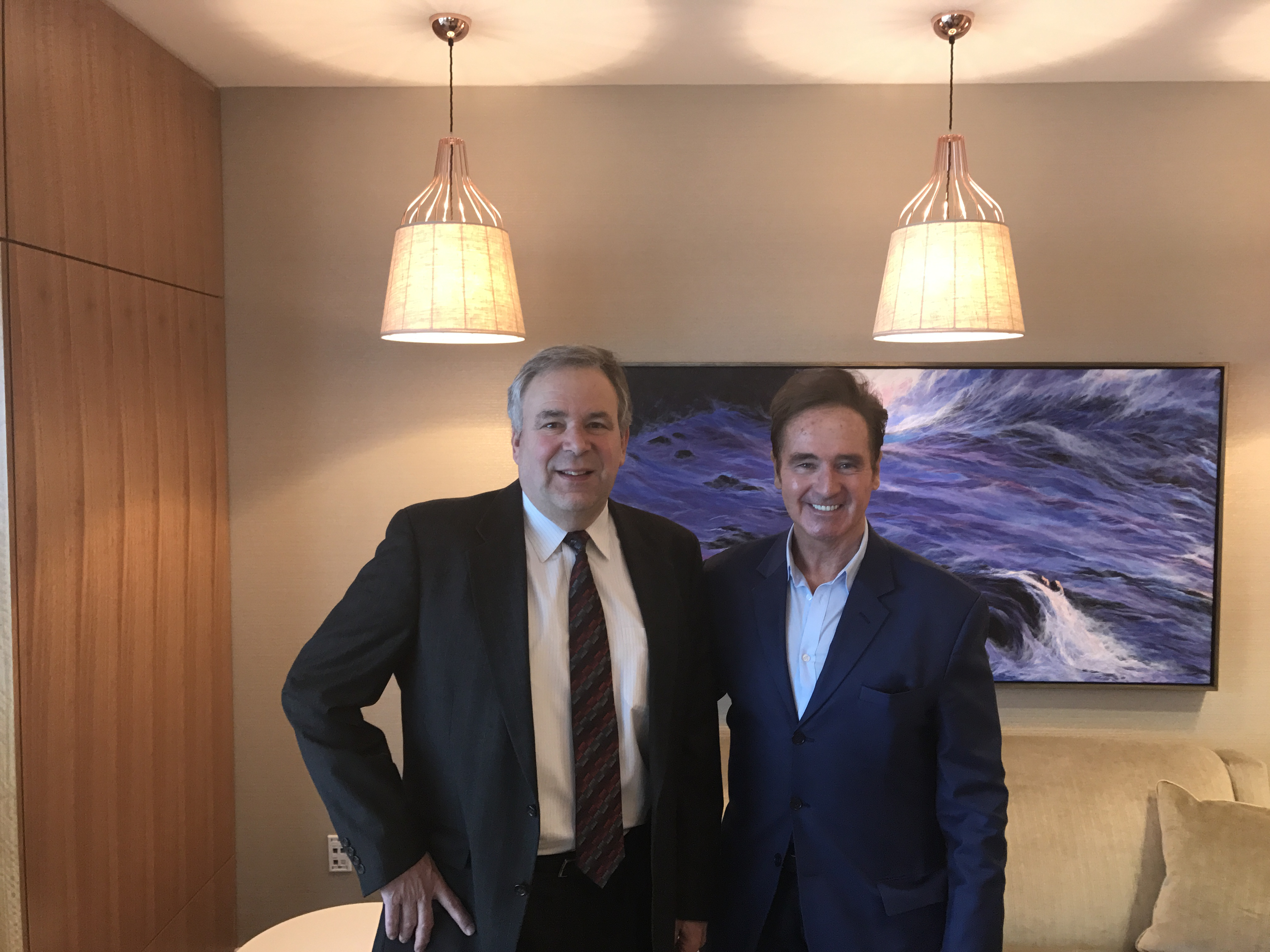 Brian Higgins (D NY), Right, Met With Life Storage (NYSE: LSI) CEO David  Rogers, Left, In Buffalo, New York. Rogers Provided Higgins, Who Is A  Member Of The ...
