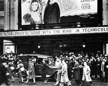 Gone with the Wind: The Georgian Terrace hosted the cast of the classic film during its world premiere in Atlanta on Dec. 15, 1939.