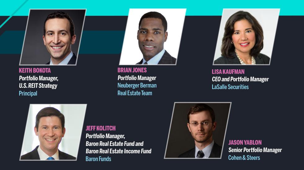 Group headshots of financial advisors