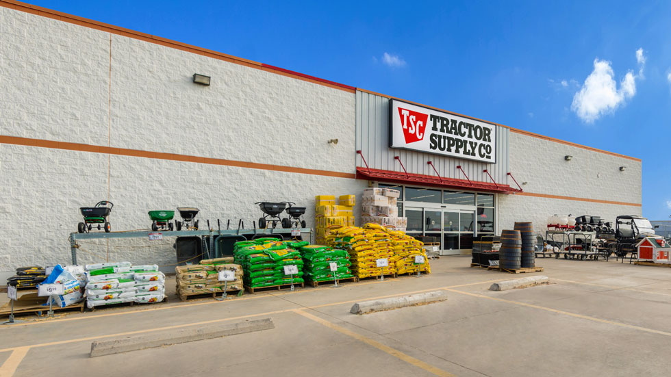 Tractor Supply building exterior