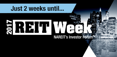 REITWeek Registration Now Open