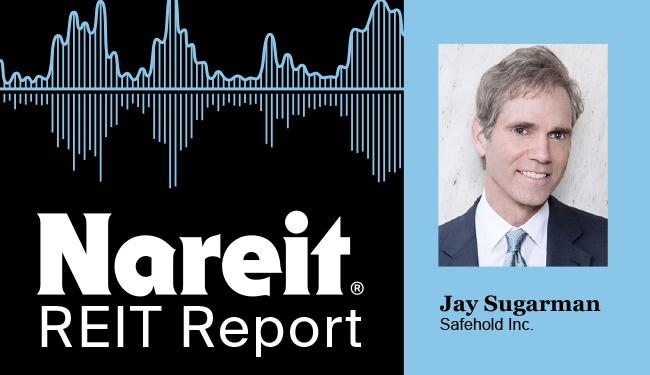 Jay Sugarman on the REIT Report Podcast