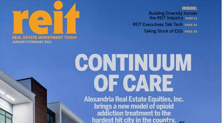 REIT magazine cover