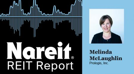 Mary McLaughlin on the REIT Report Podcast