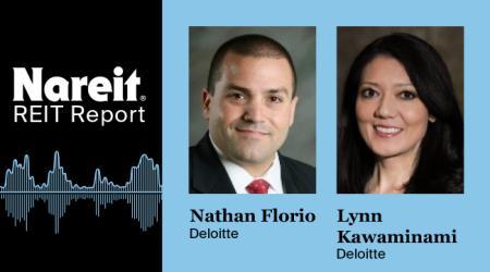 Nathan Florio and Lynn Kawaminami