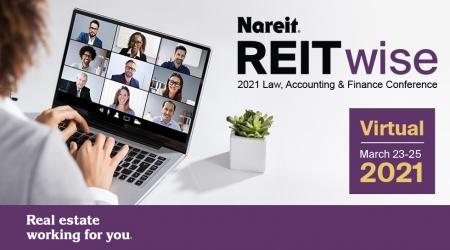 REITwise: 2021 Law, Accounting & Finance Conference