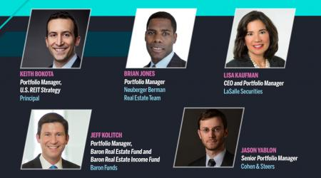 Group headshots of financial advisors